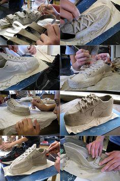 Clay Shoes (Ceramics II)