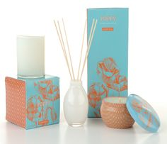 poppy candle and diffuser {cute gift idea}
