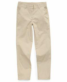 ... Kids Pants, Little Girls Twill Uniform - Kids School Uniforms - Macy's