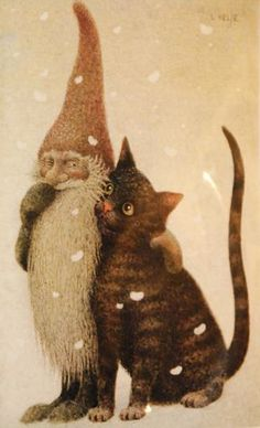 Illustration by Lennart Helje. (Swedish)