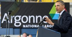 On March 5, 2013, President Barack Obama toured Argonne and gave a speech on America's energy future. He called on Congress to establish the first-ever Energy Security Trust.