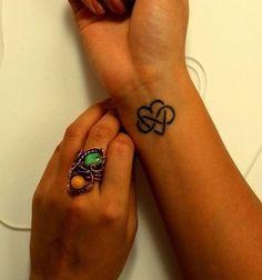 Wrist tattoo. Infinite