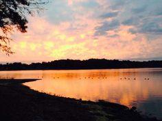 @Jenn L Holbrook: Beautiful sunrise over Lake Murray, SC. #TODAYsunrise