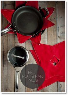 felt pot, pan pad
