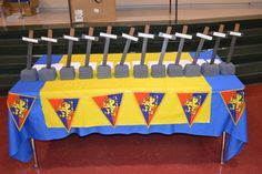 Pack 1373 Dale City, Virginia - Blue & Gold Banquet 12 core values of scouting Medieval style!!