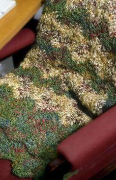Best Free Crochet » Free Dorm Throw Crochet Pattern From RedHeart.com #202