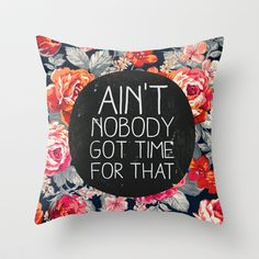 Throw Pillow by Sara Eshak