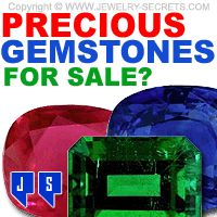 ► ► Awesome Precious Gemstones, Loose and Mounted! Check them out...