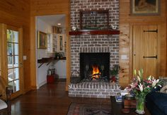 Copp Boat House - traditional - Living Room -  The Ford Plantation- www.cowartgroup.com  - Gerald D. Cowart, AIA, LEED AP