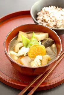 """Recipe: KenchinJiru, Japanese """"Shojin Ryori"""" Buddhist Vegan Shoyu ..."""