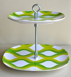 Tiered plates, DIY