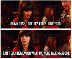 related quotes, food, new girl quotes jess, new girl quotes funny, relat quot
