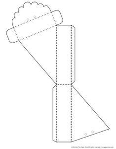 Molde de cajas con forma de papel (3)