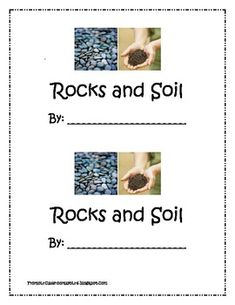 Teaching earth science on pinterest rock cycle water for Soil 1st grade