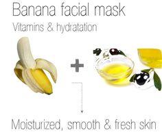 Banana facial mask Facial Masks, Banana Facial