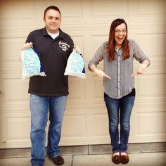 Ice ice baby! Pregnancy announcement