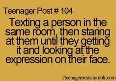 Haha pretty much :)
