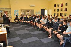 U.S. Ambassador Huebner's visit to Nelson College