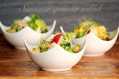 Very nice refreshing #salad #recipe for any occasion! It is full of #organic #raw #vegetables! #food