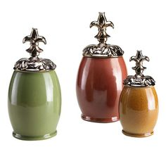 I pinned this 3 Piece Petit Trianon Jar Set from the Style Study event at Joss & Main!