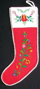 Hungarian Christmas stocking