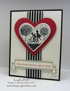 Black and white Valentine