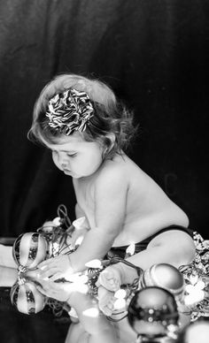 Baby Christmas Pictures By MikeO. Photography