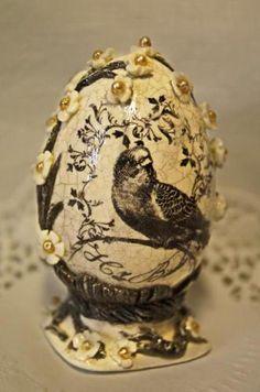 TUTORIAL-Имитация фарфора. Пасхальные яйца. Обсуждение на LiveInternet - Российский Сервис Онлайн-Дневников