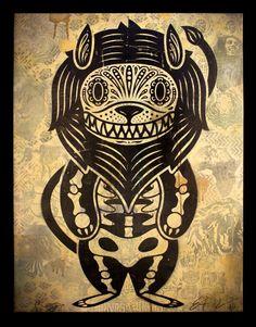devil lion