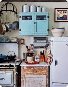 Very pretty #shabby #kitchen