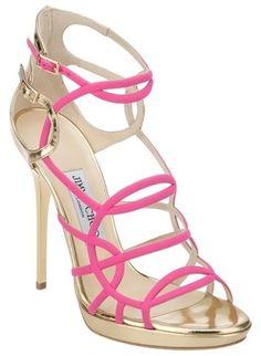 JIMMY CHOO Bunting Sandal in pink
