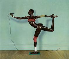 Grace Jones, New York, 1978Photographer: Jean-Paul Goude