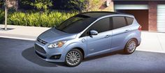 Ford C-MAX hybrid  if only this was in blue candy