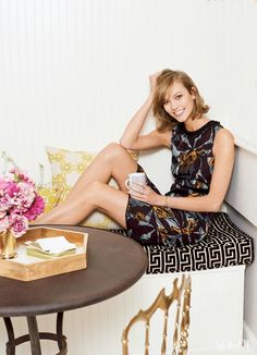karlie kloss home2 Here Are Photos of Karlie Kloss NYC Apartment for Vogue