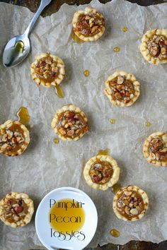 Mini Pumpkin Pecan Tassies