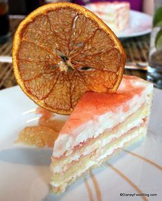Disney Recipe: Grapefruit Cake at #Disney World's Hollywood Brown Derby  Restaurant! #Disney #Recipe