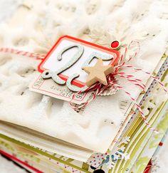 album covers, december, christmas scrapbook, decemb daili, travel tips, mini albums, mini books, mini scrapbooks, cover art