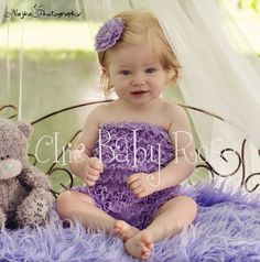 The Original Toddler Petti Romper in 21 colors by Chic Baby Rose