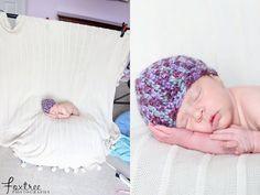 set up for newborn pics