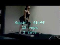 Margret Gnarr Glute Workout   CutAndJacked.com