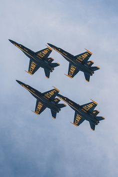 Blue Angels - Seafair, Seattle WA ... photo by Dan Cole