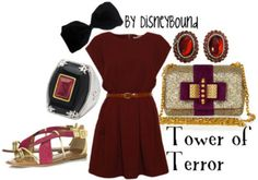 fashion, towers, style, outfit, the dress, disney bound, closet, disney clothes, disneybound