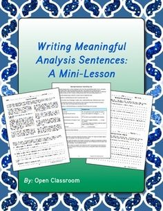 analysis poetry essay