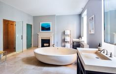 Sarah Jessica Parker and Matthew Broderick's Greenwich Village Bathroom