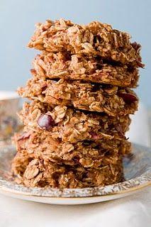 sugar/wheat free apple breakfast cookie