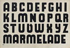 Muster-Alphabete Block-Schrift | Flickr - Photo Sharing!