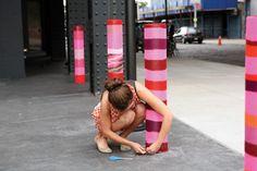 She's Crafty: Yarn Bombing Pioneer Magda Sayeg