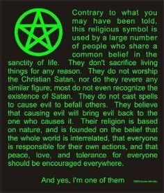 wiccan..