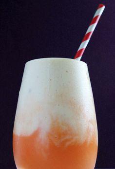 Tropical Peach Pineapple Greek Yogurt Smoothie