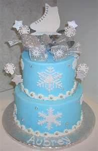 ice skate cake!